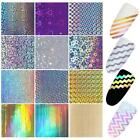 Nail Laser Stripe Tip 3D Stickers Manicure Template Nail Art Sticker EN24H 01