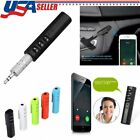 US Bluetooth Wireless 3.5mm Audio Stereo Music MP3 For Home Car Receiver Adapter