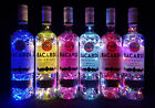 Bacardi - Flaschen Lampe mit 80 LEDs Farbauswahl Upcycling Geschenk Idee