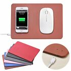 2in1 Qi Wireless Charger Charging Pad Mouse Mat For iPhone X/8/8 Plus Samsung S8