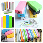 Portable 5600mAh USB Power Bank 18650 Battery Charger Case Box For Mobile Phone