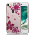 IMD Printing Slim-Fit ShockProof TPU Case Cover for iPhone 5 5S 6 6S X 7 8 Plus