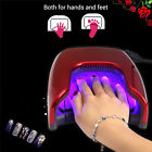 gel nail polish with led light - 48W LED Light UV Nail Dryer Gel Nail Curing Polish Dual-use For Hands