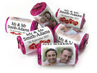 Personalised Mini Love Heart Sweets for Weddings favours, Your Image - Mr & Mr