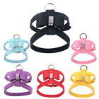 Bling Rhinestone Dog Harness with Bowknot Studded New for Small Dogs Puppy S-L
