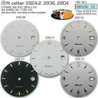 DIAL FOR MOVEMENT ETA 2824-2 or SW 200, Ø 28.5MM, different colors 285.09 -13