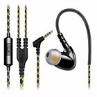 Fonge F1 In ear Earphones Super Bass Sports Headset Handsfree with Mic Free Ship