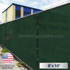 8'x10' Feet Fence Screen Cover Mesh Windscreen Fabric Privacy Shade Mesh W/Zip