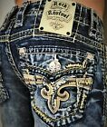 New Mens Rock Revival Scion Slim Bootcut 28 29 30 31 32 33 34 36 Regular Long