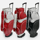 MIZUNO La Rouge ? Golf Caddy Bag 3 Color Carrier Tour Cart Caddie Authentic v_e