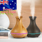 LED Air Humidifier Ultrasonic Essential Oil Mist Steam Aroma Diffuser Purifier