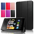 kindle fire hd case amazon - USA Amazon Kindle Fire HD 8 7th Gen 2017 Case Magnetic Flip Leather Smart Cover