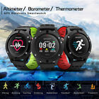 Hot No.1 F5 GPS Smart Sport Watch Altimeter Heart Rate Monitor for Android iOS