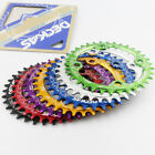 UK Bike Narrow Wide Round Oval Chainring Chain Ring BCD 104mm 32 34 36 38T