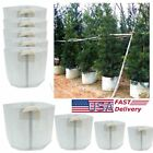 US 5 Packs Fabric Grow Bags 5 15 50 80 Gallon Container Garden NEW
