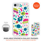 Space Rocket Solar System Case Bumper for Child iPhone 7 6 5 4 & Galaxy S / Note