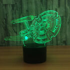 Star Trek Wireless Bluetooth Speaker Night Light Sleeping Table Desk Lamp Toy