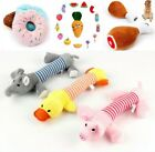 Soft Pet Dog Toy Squeaky Plush Quack Sound Toy Puppy Cat Funny Chew Squeaker