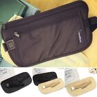 Hidden Security Money Passport Card Ticket Waist Belt Bag Pocket Travel Wallet