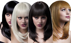 Ladies Professional Quality Natural Layered Feathered W/Fringe Fancy Dress Wig