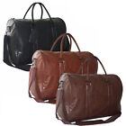 50L Quality Faux Leather Executive Business Satchel Messenger Work Shoulder Bag
