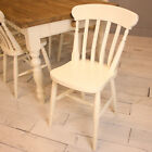 Kitchen Dining Chairs, Spindle and Slat Back - various colours and finishes