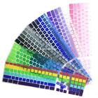 Dustproof Gradient Color Soft Silicone Keyboard Skin Cover Film For E