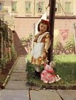 """JOHN GEORGE BROWN """"Young Girl In Garden"""" print NEW choose your SIZE, from 55cm"""