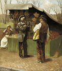 GEORGE BACON WOOD Fifteenth Amendment CANVAS ART ! choose your SIZE, from 55cm
