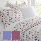 Ultra Soft 3 Piece Blossoms Print Duvet Cover Set - Hotel Collection by iEnjoy image