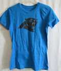Carolina Panthers Women's Graphic Short Sleeve Shirt NFL Size M, L  A14 on eBay