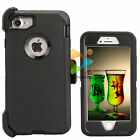 For Apple iPhone 7 / 7+ Plus Case Screen Protector (Clip Fits Otterbox Defender)