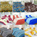 Latest Printed Designs Duvet Quilt Cover 2018 Bed set with Pillow Case All Sizes