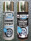 Chrome Foil Mirror Metallic Effect Auto Spray Paint DIY Car Aerosol 200ML 400ML