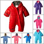 Snow Suit Baby Boy Girl Infant Clothing Winter Warm Diagonal