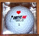 NEW! Valentines Novelty Golf Balls - Your Choice - Friends Dimples Drive Me Wild