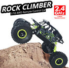 New Off Road Remote Control 1/18 2.4G 4WD Rock Crawler Radio RC Car Toy UK STOCK