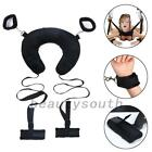 Bed Restraints Kits Adjustable for Wrist Ankle Bondage Strap Hand Cuffs Sexy Set