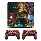 Sony PS4 Slim Vinyl Sticker Decal Console + Controller Skin Cover w/Light Bar