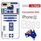 iPhone Silicone Cover Case Star Wars Android R2-D2 Side Kick Yoda - Coverlads $14.95 AUD