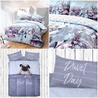 Christmas Unicorn Modern Duvet Cover Reversible Bedding Set with Pillowcases image