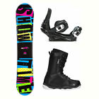 2B1 Showtime Blue ST-1 Complete Snowboard Package 2018