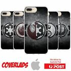 iPhone Silicone Cover Case Star Wars Factions Logo Emblems Dark Side - Coverlads $14.95 AUD on eBay
