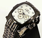 Invicta 23430 Grand Lupah White Dial Swiss Black IP Multifunction Bracelet Watch