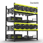 Veddha 8/6 GPU Mining Rig Aluminum Case Stackable Open Air Frame