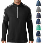 adidas Golf Mens 3-Stripes 1/4 Zip Pullover Jumper Sweater 38% OFF RRP