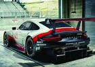 Porsche 911 RSR Sportscar Large Colour Poster A0, A2, A1, sizes