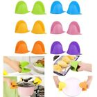 Bakery Protect Heat Resistant Silicone Oven Glove Hand Clip Oven Mitt Pot Holder