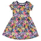 MY LITTLE PONY: 2018 JERSEY  DRESS,2/3,3/4,4/5,5/6,7/8,9/10YR, NEW WITH TAGS