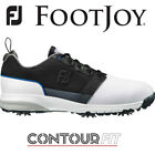 FOOTJOY CONTOUR FIT WATERPROOF GOLF SHOES 54153K WHITE/GREY/BLUE